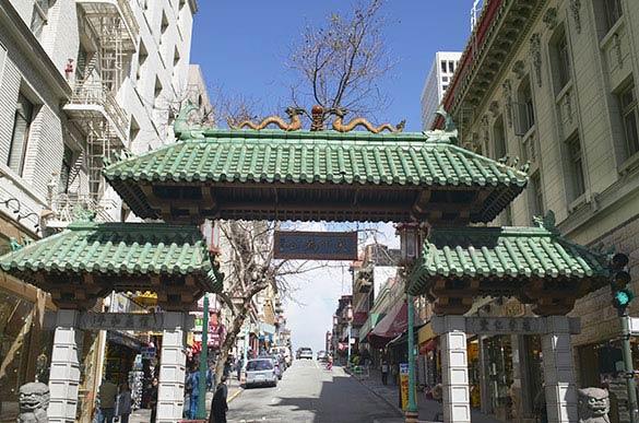 China Town at San Francisco