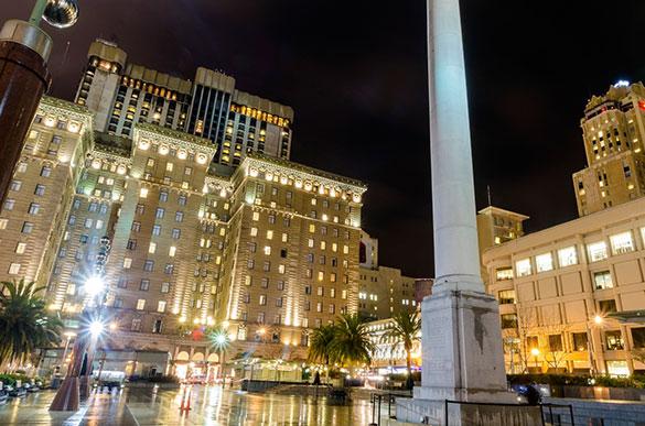 Union Square at California