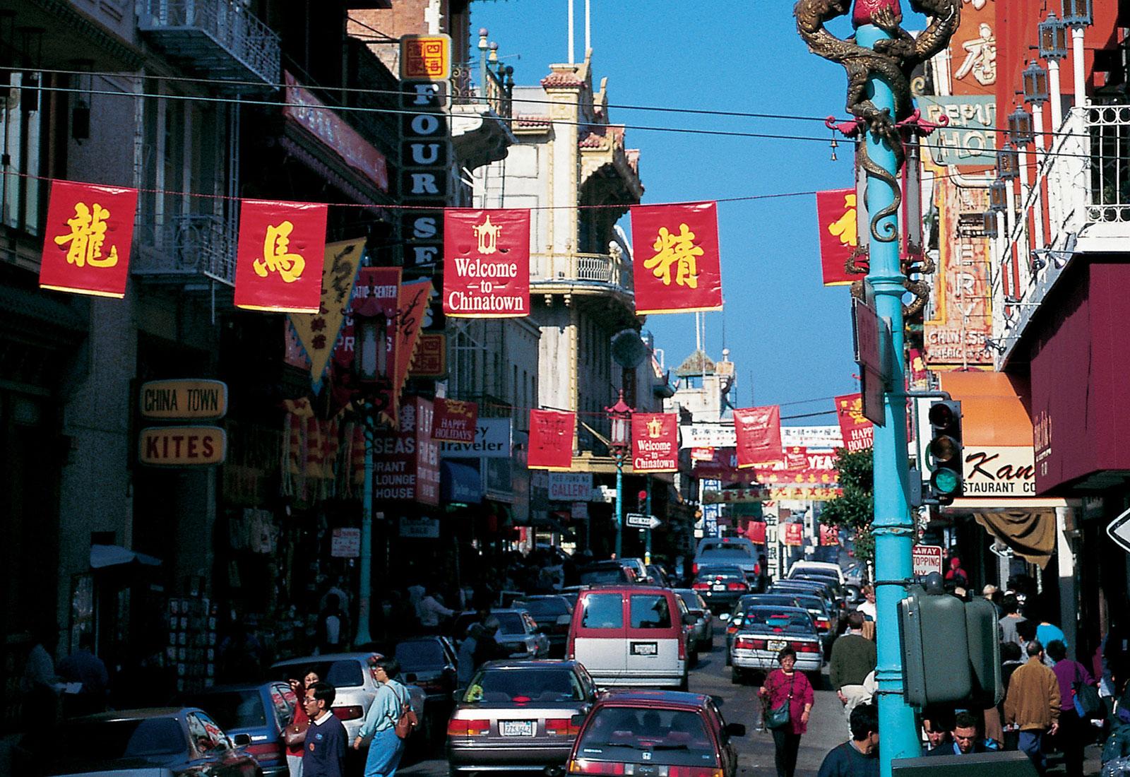 China Town at California