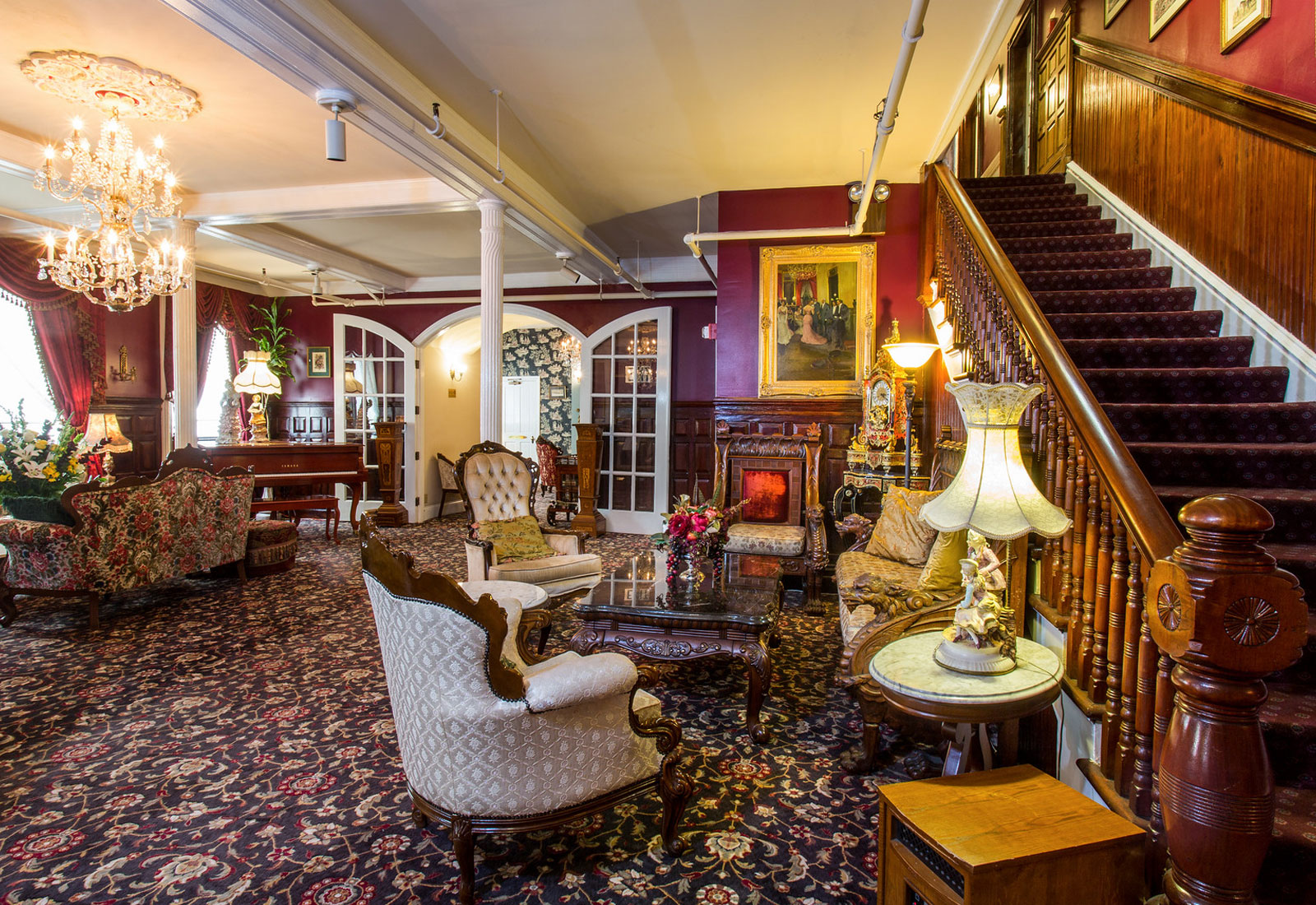 Historic San Francisco Hotel in Pacific Heights  Queen Anne Hotel
