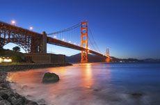 Golden Gate Bridge at San Francisco